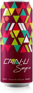 can-u, vinho, vinho em lata, wine, wine in a can, sangria, canned wine, canned sangria
